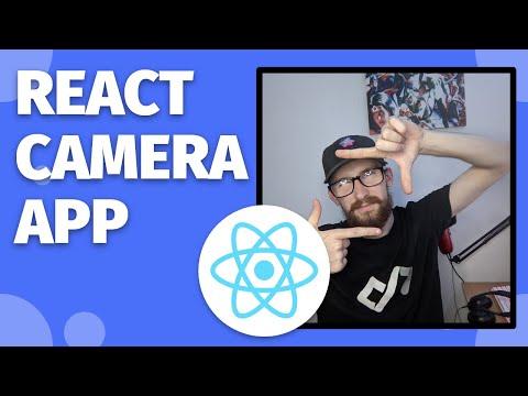 Build a CAMERA APP in REACT JS! | Easy Tutorial!