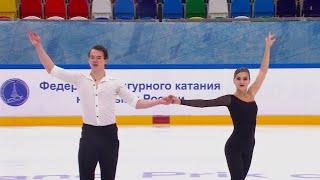 А Балабанова А Святченко Короткая программа Кубок России по фигурному катанию Пятый этап