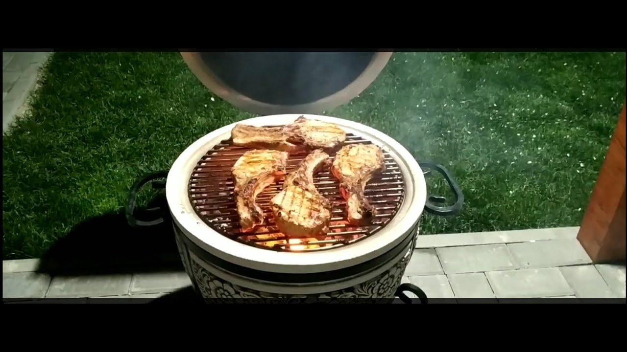 Мясо на углях , обалденный шашлык в тандыре