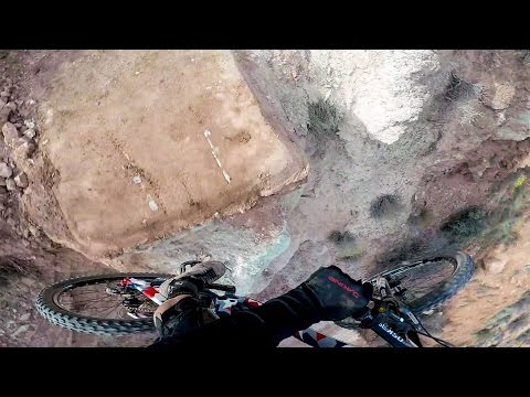 GoPro: Carson Storch's GIANT 360 Drop at Red Bull Rampage 2016