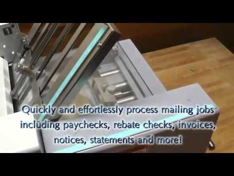 Plieuse presse et Cacheter Duplo EX-2000
