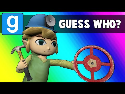 Gmod Guess Who Funny Moments - Oil Rig Imposters (Garrys Mod)