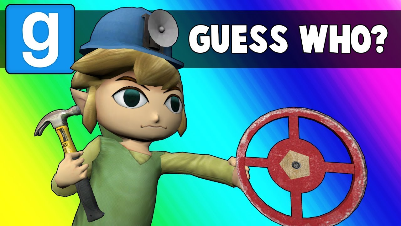 Gmod Guess Who Funny Moments - Oil Rig Imposters (Garry's Mod)