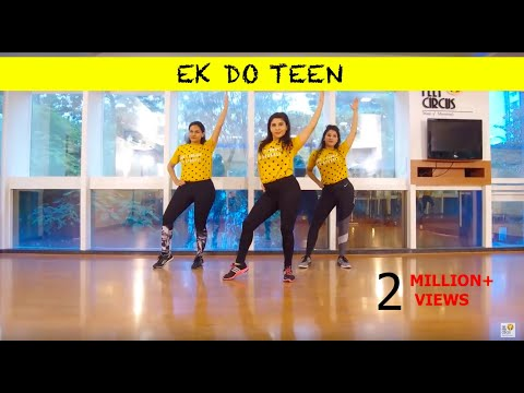 Ek Do Teen | Baaghi 2 | Dance Fitness | Zumba Dance Routine | The Feet Circus