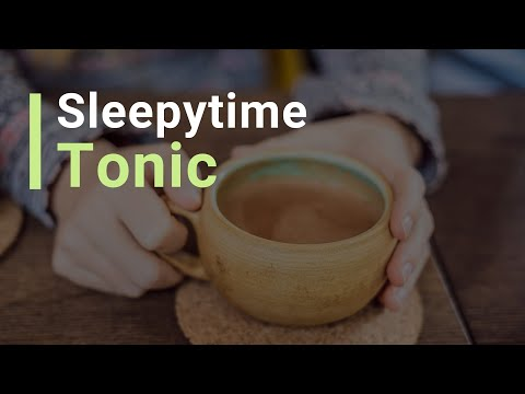 My Essential Drink for Better Sleep – Sleepytime Tonic