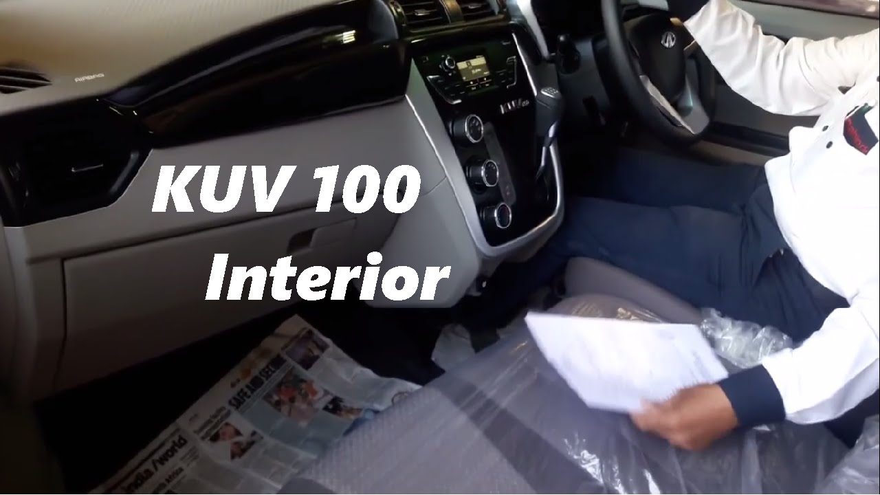 mahindra kuv 100 interior youtube. Black Bedroom Furniture Sets. Home Design Ideas