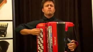 Petar Maric - Lot trzmiela - Światowy Dzień Akordeonu w Łomży 2014