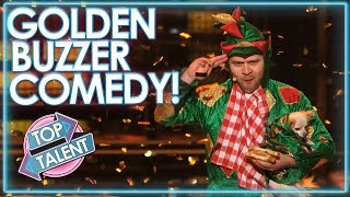 GOLDEN BUZZER COMEDIANS Around The World! | Top Talent