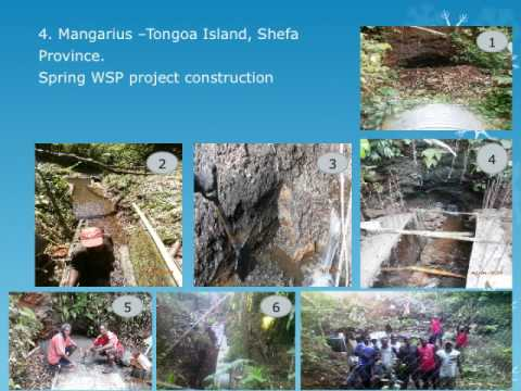 Vanuatu Drinking Water Safety Plan Implementation