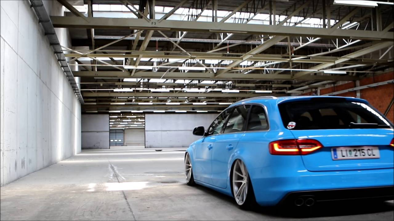 audi a4 b8 airride youtube