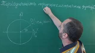 Тема 3 Урок 2 Періодичність тригонометричних функцій - Алгебра 10 клас
