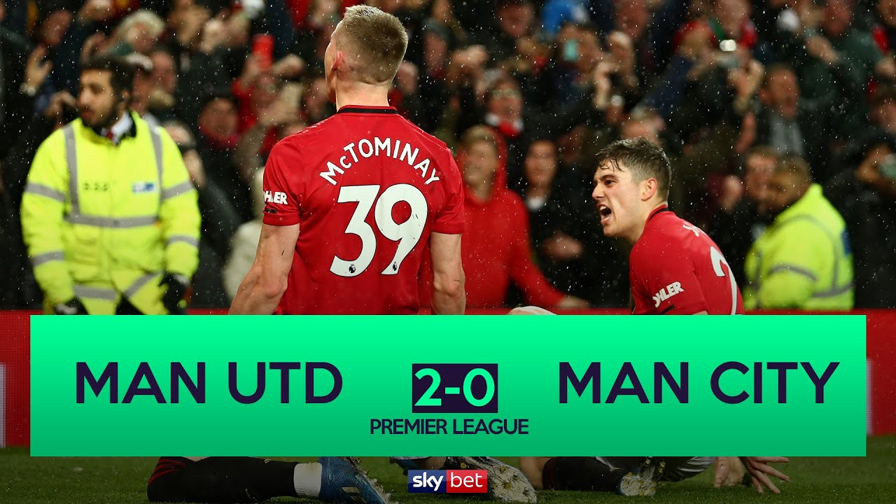 Manchester United 2 0 Manchester City United Complete Manchester Derby Double Youtube