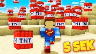 CO 5 SEKUND SPADA ODPALONE TNT w MINECRAFT!!
