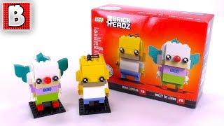 BEST BRICKHEADZ EVARRR!!! Homer Simpson & Krusty The Clown | LEGO 41632 Review
