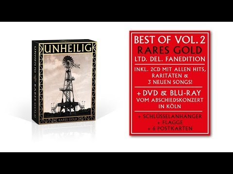 Unheilig & The Dark Tenor - Zeitreise - Best Of Vol. 2 Rares Gold