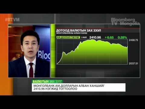 Монголбанк ам.долларын албан ханшийг 2410.96 нэгжид тогтоолоо