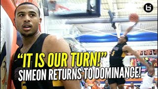 Simeon Returns to DOMINANCE! MVP Talen Horton-Tucker Does It All! Pontiac Title Game Highlights!