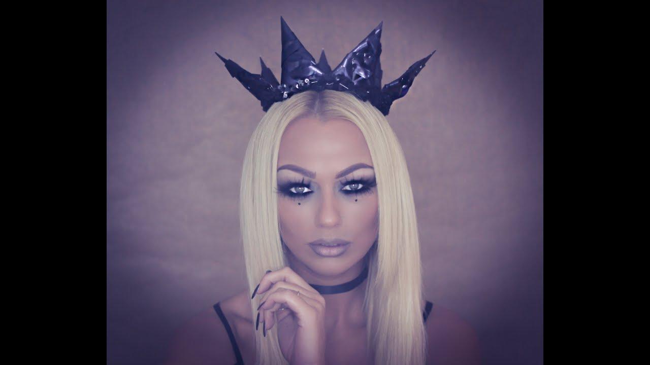 Halloween Makeup   Dark Queen   Annika Lindgren Makeup Tutorials ...