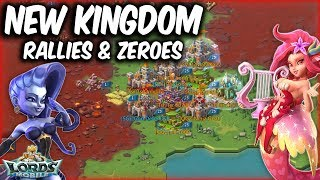 New Kingdom Action Rallies & Zeroes - Lords Mobile