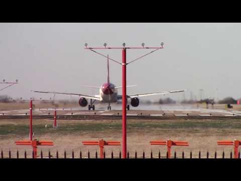 Dallas Love Field Southwest Airlines Overhead Landings&Takeoffs Perfect Weather