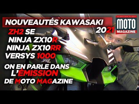Kawasaki : NOUVEAUTÉS MOTO 2021 - On en parle dans l'Émission de Moto Magazine
