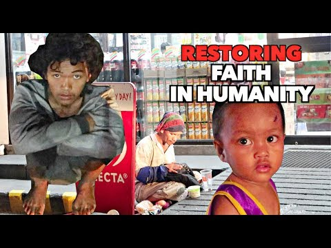 Feeding HOMELESS FILIPINOS on CHRISTMAS | FAITH IN HUMANITY EXISTS! 🙏