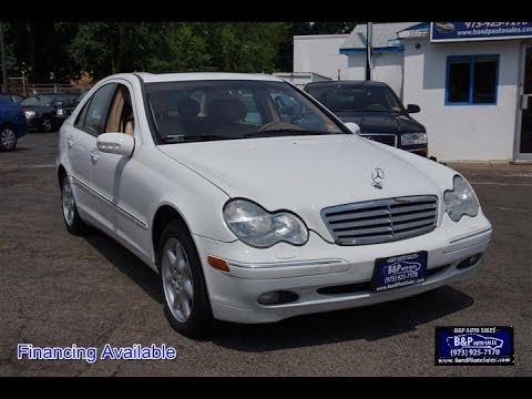 2002 mercedes benz c class c240 sedan youtube. Black Bedroom Furniture Sets. Home Design Ideas
