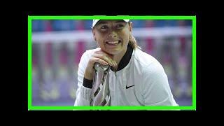 Maria sharapova got a mid-match marriage proposal. watch her reaction – ndtv sports Video