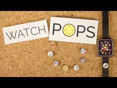 WatchPops: Bling out your Apple Watch