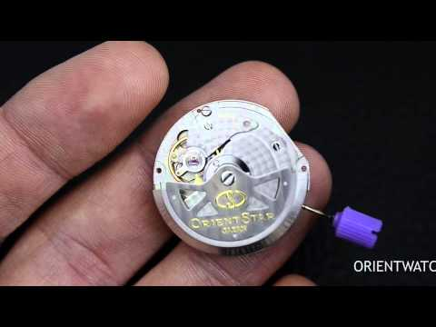 Orient Watch Automatic Watch Movement Question Video