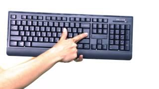описание - комплекта клавиатура + мышь Oklick 240 M