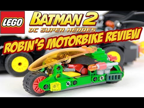 Lego Robin's Motorbike from Lego Batman 2 (Review) - YouTube
