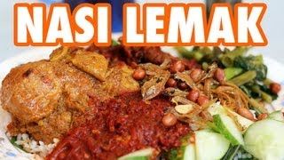 Nasi Lemak - Fatty Rice, Heavenly Toppings
