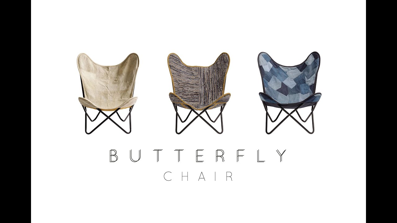 Butterfly Chair   YouTube