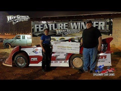 #J4 Colten Jackson - Winner - 602 - 3-31-18 West Ga Speedway - In Car Camera