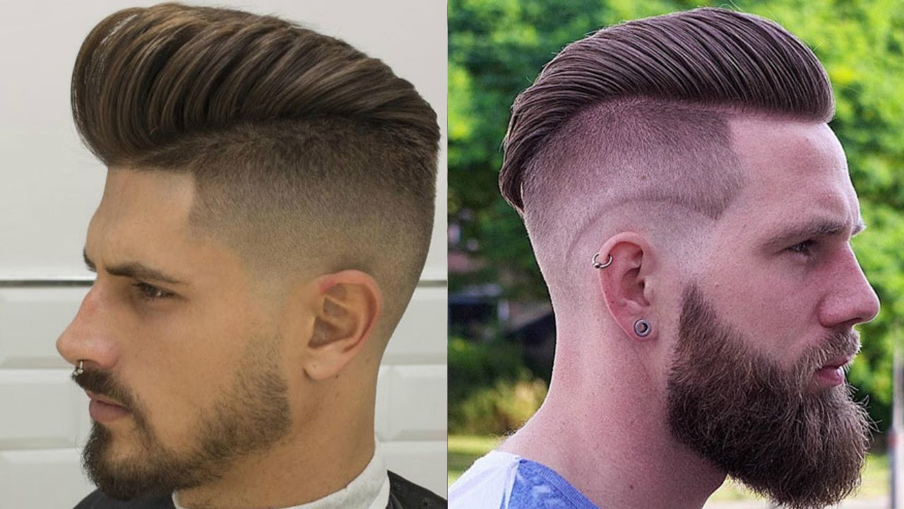 Top Fashionable Hairstyles For Men 2017 2018 Best Trendy: 10 Top Men's Fade Hairstyles 2017-2018-10 Stylish Fade