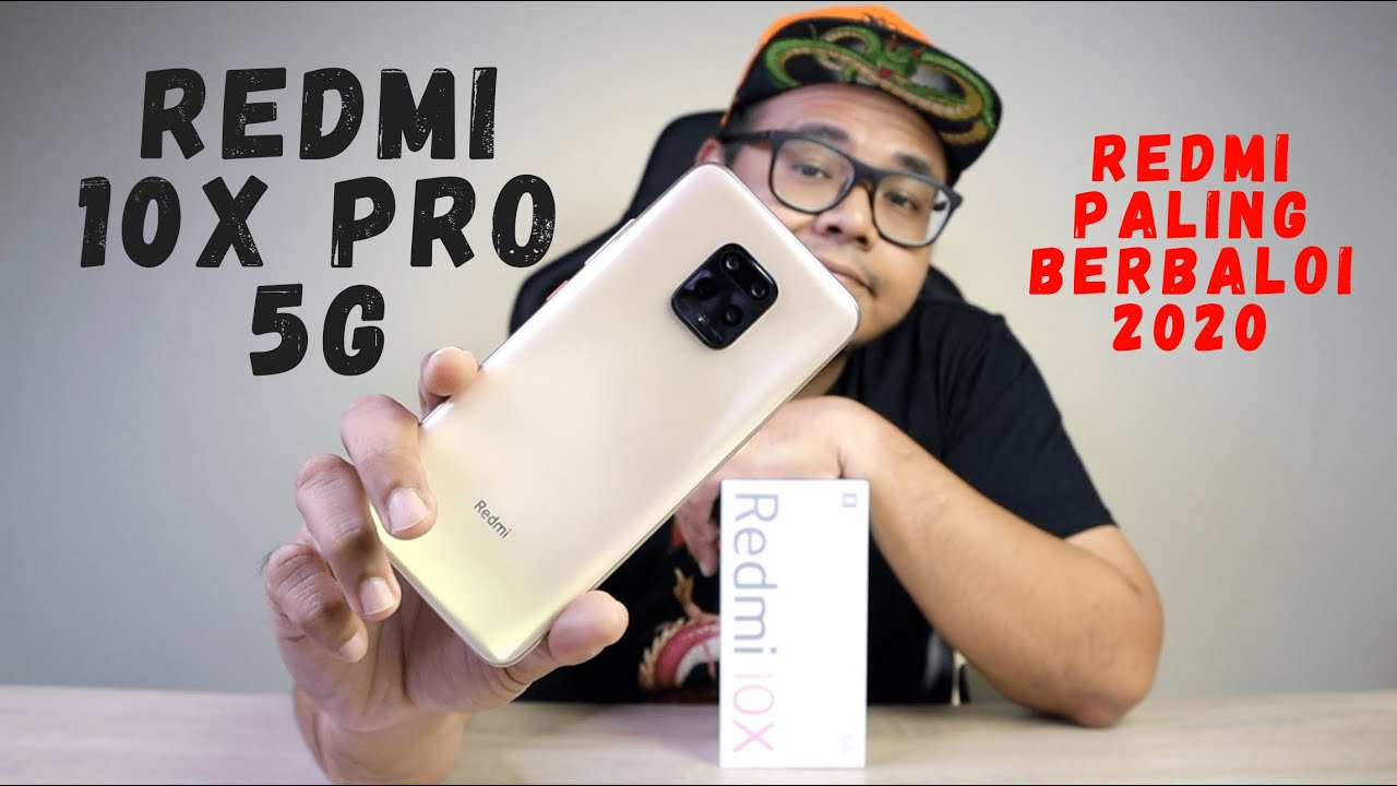 REDMI PALING BERBALOI 2020 - REDMI 10X PRO 5G [UNBOXING & HANDS ON]