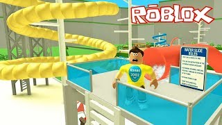 Roblox Water Park Tycoon ! || Roblox Gameplay || Konas2002