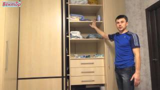 видео Как выбрать шкаф для спальни