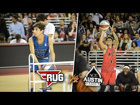 3 POINT CONTEST VS AUSTIN MCBROOM!! (ACE FAMILY CHARITY BASKETBALL EVENT)