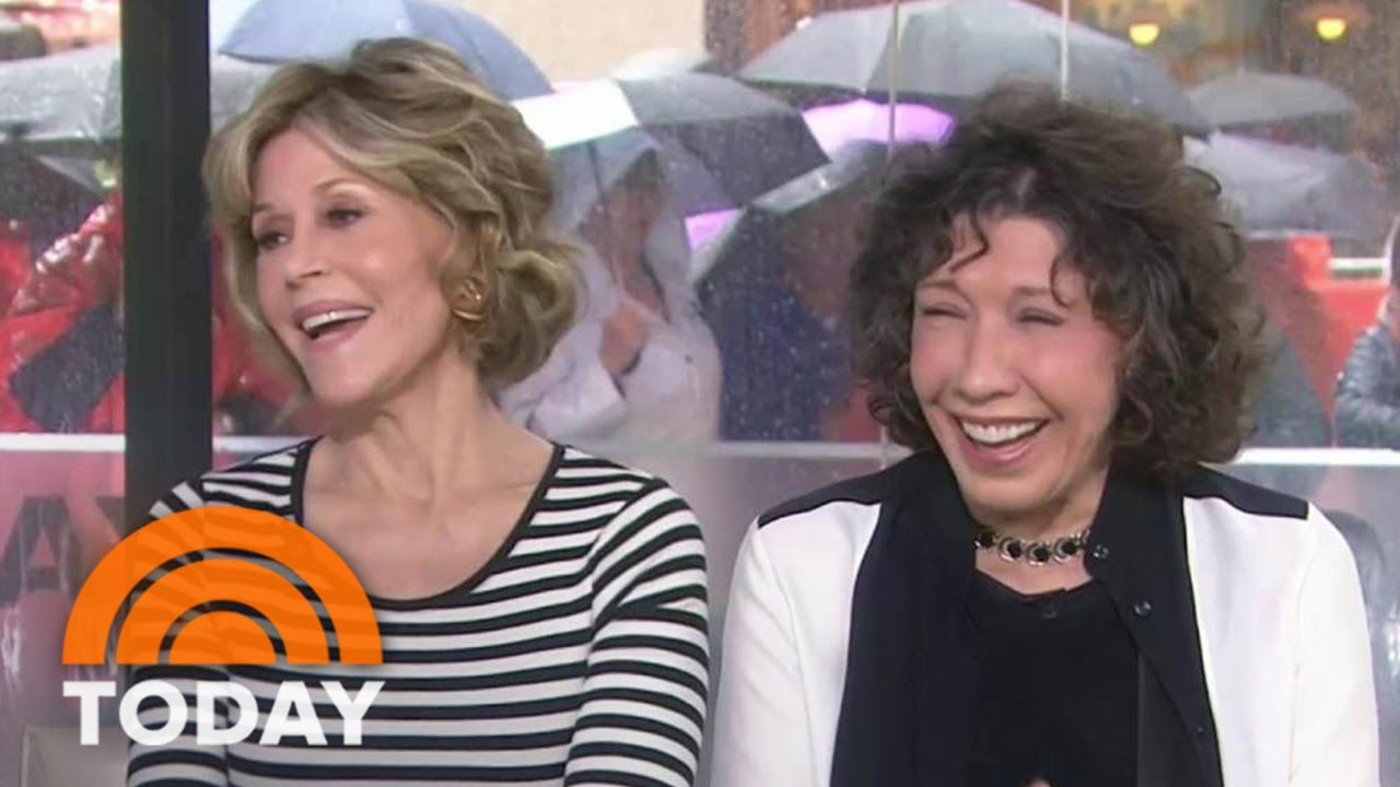 89967ffaf01dcf Jane Fonda, Lily Tomlin: Why We Love Playing 'Grace and Frankie' | TODAY -  YouTube