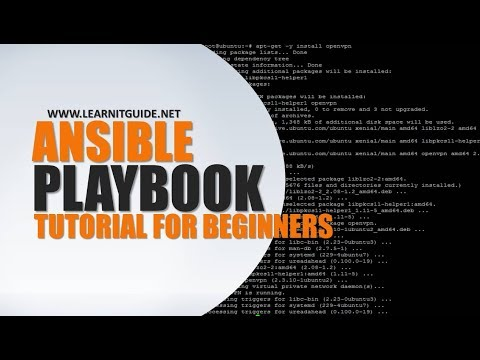 Ansible Playbook Beginners Tutorial - Ansible Tutorials for Beginners