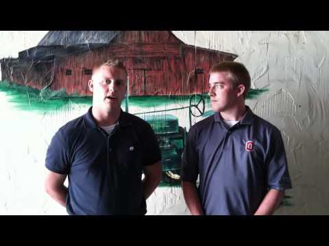 OFBF State Fair Intern Video Blog #1
