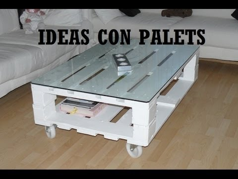 Que hacer con palets ideas con palets youtube - Ideas decorativas con palets ...