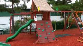 Gorilla Playsets Sun Valley, Sun Climber And Sun Palace Swing Sets  Review From Arizona Playsets