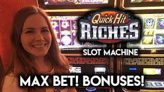 Quick HIT RICHES! MAX Bet Lots of BONUSES!