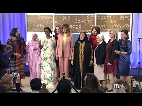 2018 Annual International Women of Courage Awards Ceremony