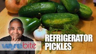 Waynebite Refrigerator Pickles