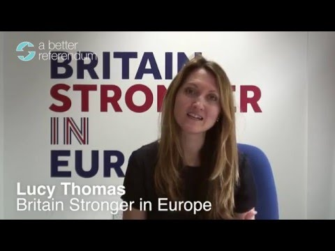 Britain Stronger in Europe on Migration and Work