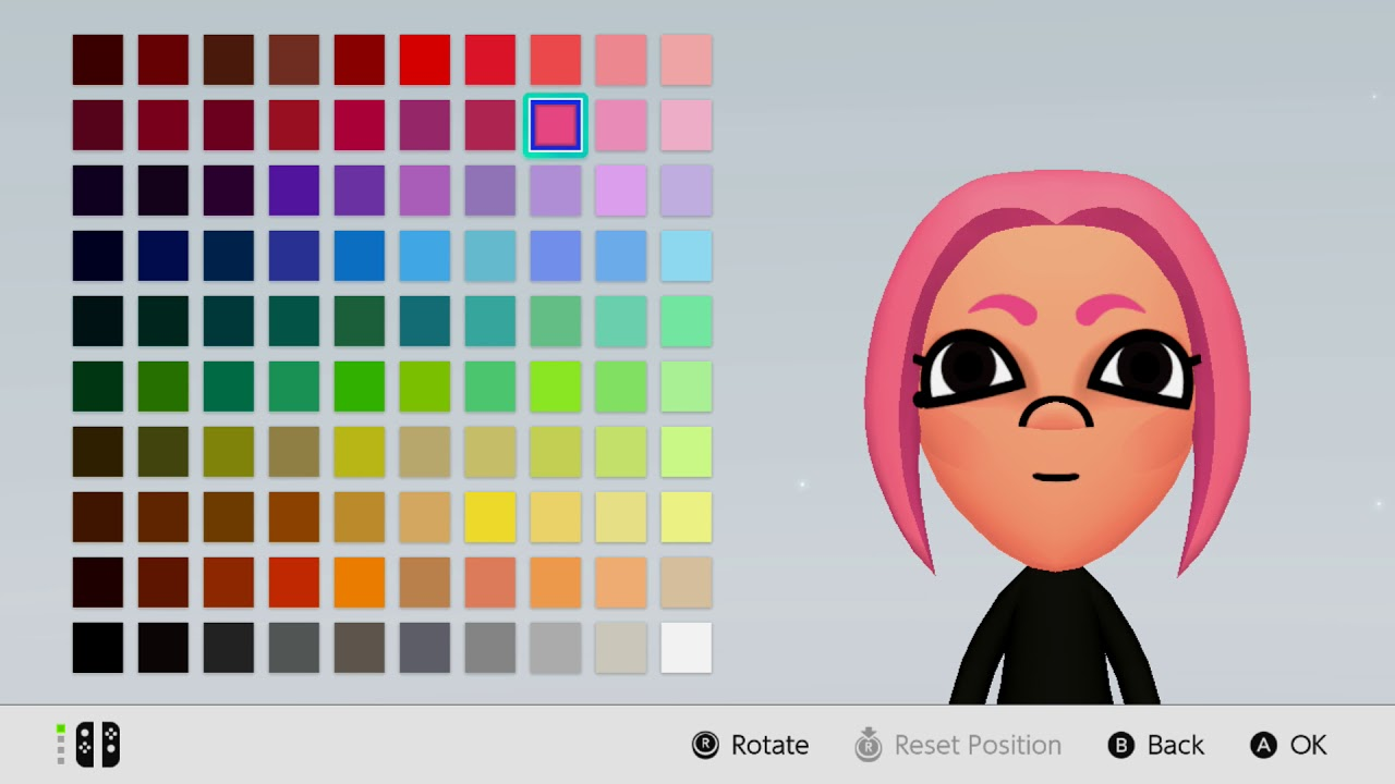 mii maker how to make female octoling from splatoon nintendo